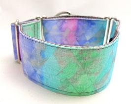 Halsband Batik grau / 34.