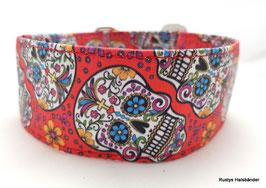 Halsband Mexican rot / Skulls