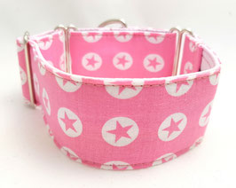 Halsband Sterne rosa / 9.