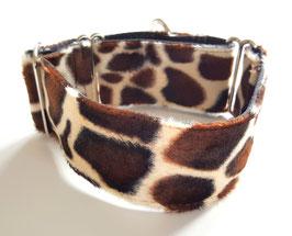 Halsband Wildlife Giraffe braun / 74.