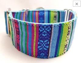 Halsband Peru blau / 158.