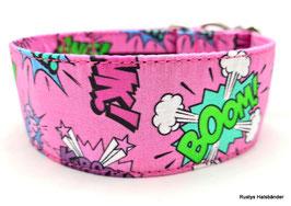 Halsband Crash Boom Bang rosa / 154.
