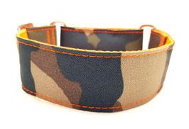 Halsband Camouflage orange / 70.