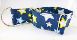 Halsband Sterne blau/ 54.