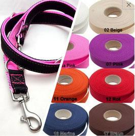 Doppel Leine 3-fach verstellbar für Hunde ab 20kg Hund / 11.