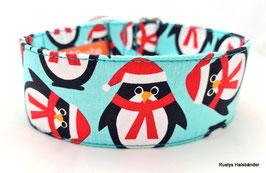 Halsband Pinguin türkis / 146.
