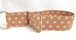 Halsband Sterne beige / 8.