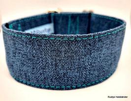 Halsband Jacquard Fischgrät blau  / 116.