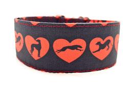 Halsband Windhund in Love / 33.