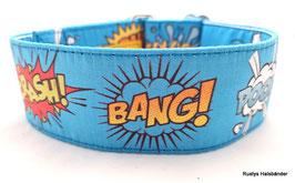 Halsband Crash Boom Bang türkis / 91.