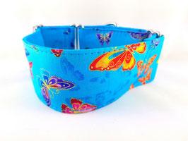 Halsband Butterfly türkis / 66.