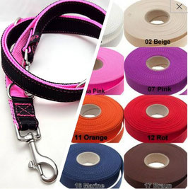 Doppel Leine 3-fach verstellbar für Hunde bis 20kg Hund / 10.