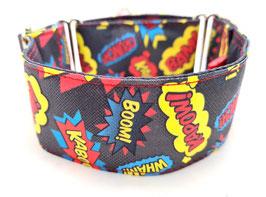 Halsband Crash Boom Bang grau / 24.