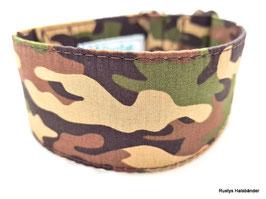 Halsband Camouflage orange / 122.