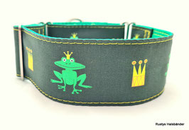 Halsband Froschkönig grün / 150