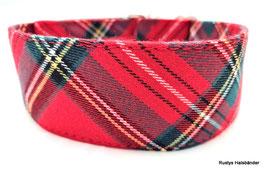 Halsband Karo rot / 118.