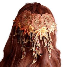 Haarspange Tropfenblüten