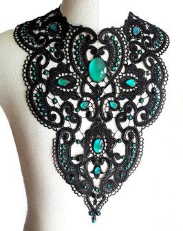 Großes Collier Antik Perlen