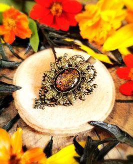 Haarclip Victorian bronze Stern