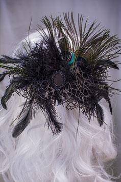 Haarspange Fürstin schwarz