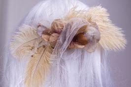 Federn beige klein