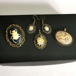 Kleine Box 3D bronze