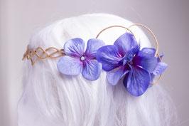 Blumenkranz blau klein