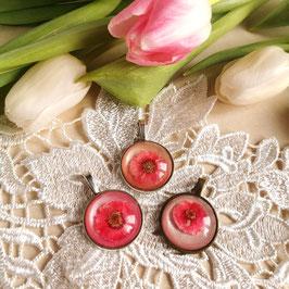 Anhänger Mohnblume rosa