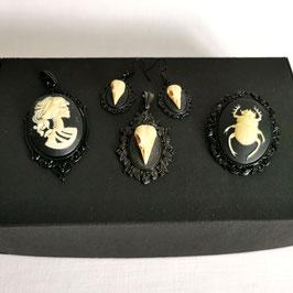 Kleine Box 3D schwarz