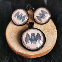 Fledermaus Happy Haunting