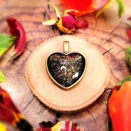 Anhänger Herz bronze