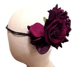 Blumenkranz Rosen groß Lila