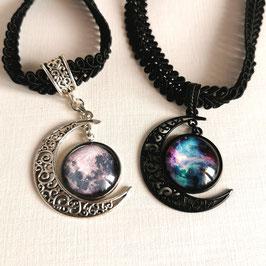 Halsband Mond