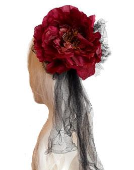 Haarreifen Blume groß