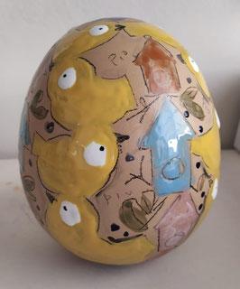 uovo Pulcini Gialli