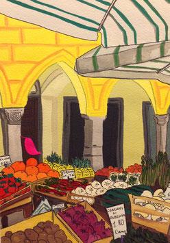Mercato della frutta di Chiavari - particolare