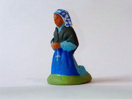 Santon Sainte Bernadette 5 cm