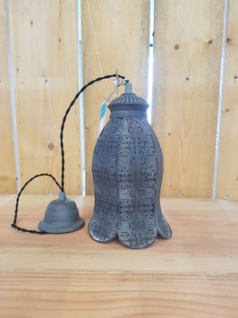Eglo Hanglamp Vintage Staal Grijs Bloem