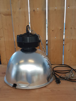 Industriële hanglamp aluminium Bazel