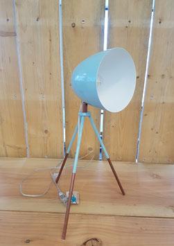 Eglo Tafellamp Vintage Staal Groen Driepoot