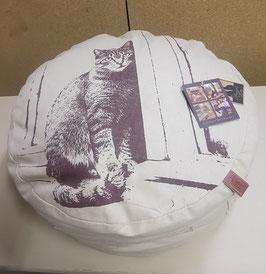 Kussen met afbeelding kat