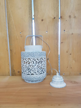 Eglo Hanglamp Vintage Staal Wit Marrakech