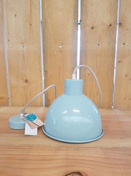 Eglo Hanglamp Vintage Staal Groen Kappie