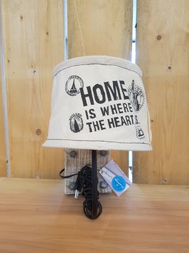 Eglo Muurlamp Vintage Linnen Home Is Where the Heart Is