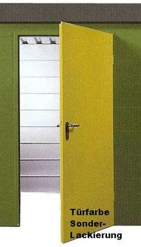 Sonderlackierung Tür