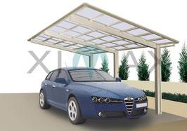 Design Einzel-Carport LINEA  Typ 110