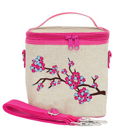Cherry Blossom Cooler Bag - Large