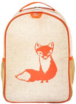 Orange Fox Toddler Backpack