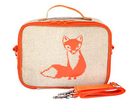 SoYoung Orange Fox Lunchbox