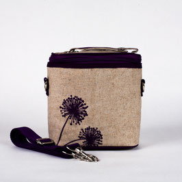 Purple Dandelion Cooler Bag - Small